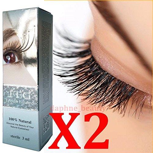 2 Boxes FEG Eyelash Enhancer Serum - increasing the length, thickness and darkness 0f Eyelashes (Genuine Hologram)