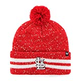 MLB Women's '47 Amelia Cuff Knit Beanie with Pom
