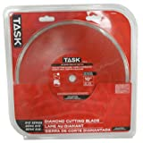 Task Tools T27448 10-Inch SVS Series Continuous Rim Diamond Saw Blade, Wet/Dry Cut with 5/8-Inch Arbor