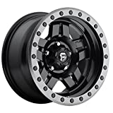 fuel anza wheels - Fuel Anza 15 Black Wheel / Rim 5x4.5 with a -18mm Offset and a 72.6 Hub Bore. Partnumber D55715806537