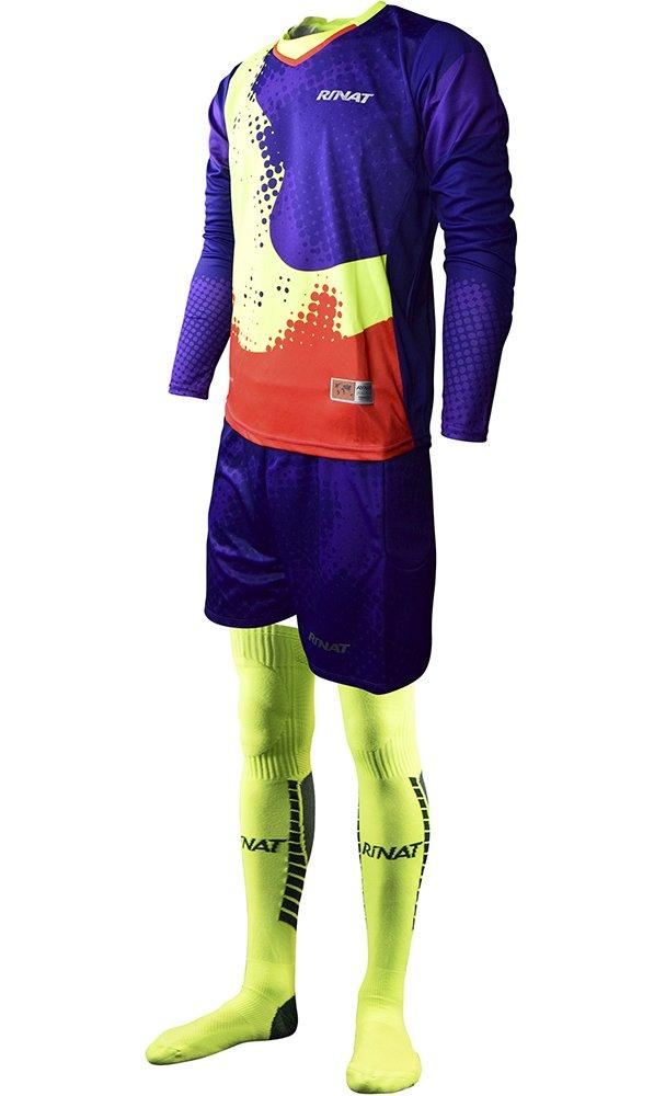 Rinat Kit Hypernova - Torwartkit Unisex, Farbe Violett Neon   Pink, Größe S