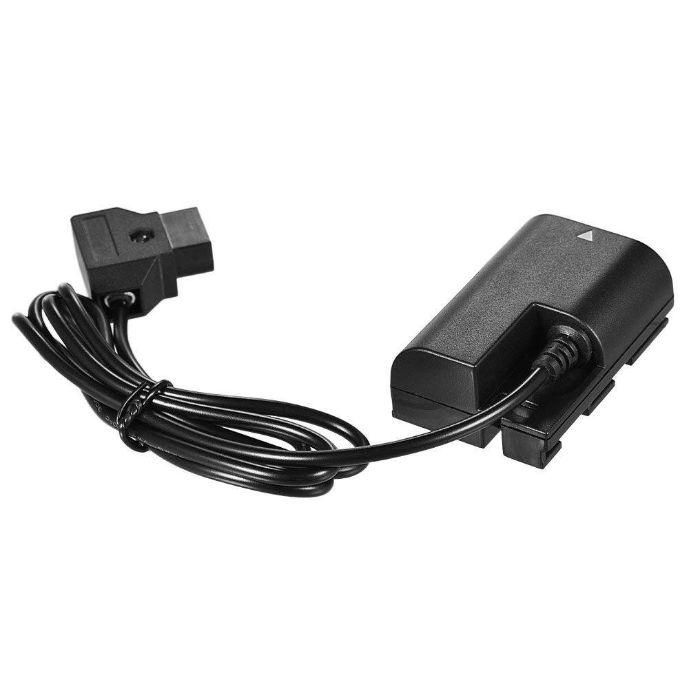 # 2 Andoer Dummy Batterie C/âble Adaptateur DC Power Bank USB C/âble Adaptateur D-Tap pour Sony Nikon Cam/éra