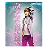"Justin Bieber 50"" x 60"" Fleece Throw Blanket - Bieber Fever"