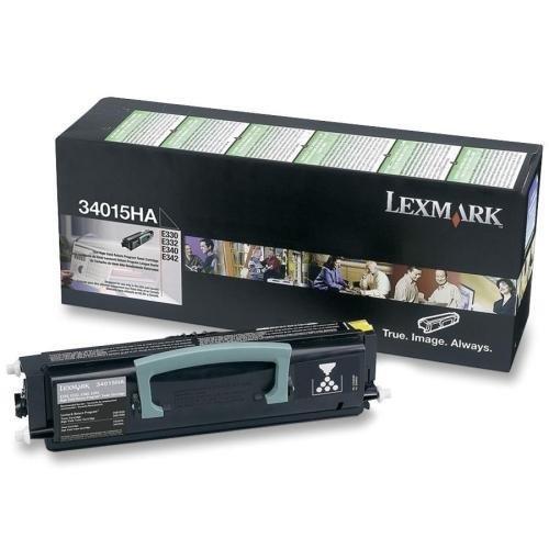 (34015HA Lexmark Black Return Program Toner Cartridge - Black - Laser - 6000 Page - 1 Each)