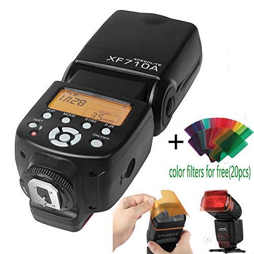 - CSxinfei XF710A Flash Speedlite for Canon Nikon Pentax Olympus Fujifilm Panasonic DSLR Digital Cameras with Standard Hot Shoe