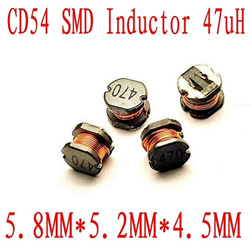 Maslin 1000PCS//lot SMD Power inductors CD54 47uh Chip Inductor 5.854.5mm