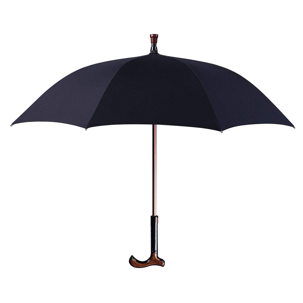 ZAIHW 2イン1 分離可能 ウォーキングスティック傘 防風 UV保護 杖 傘 ウォーキングスティック 傘 多機能杖 ハイキング   B07R9JZDZP