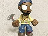 "THE WALKING DEAD (Series 3) Mystery Mini's - ""Blood Splattered"" TYREESE Figure - (RARE) 1/36 Packs"