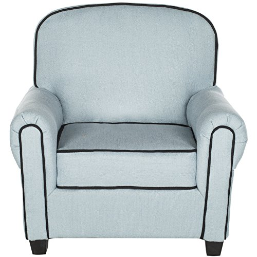 Safavieh Kids Collection Tiny Tycoon Club Chair, Blue by Safavieh (Image #2)