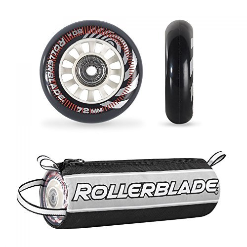 Rollerblade Wheelkit 72mm / 80A + SG5 Clear ST