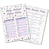 Baby Shower Games Baby Trivia Quiz Unisex Pack Of 10 Cards