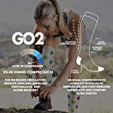 Go2 Compression Socks (1 Pair) for Women and Men