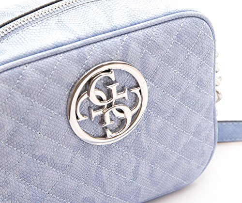 G Guess light Lux Guess Bag blue Shoulder G C6C7Zq