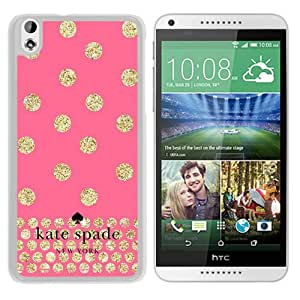 Kate Spade Cover Case For HTC Desire 816 White Phone Case 124