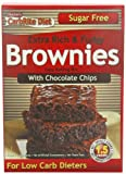 Universal Nutrition, Sugar-Free Brownie Mix with Chocolate Chips, 11.5-Ounces Package (Pack of 2)