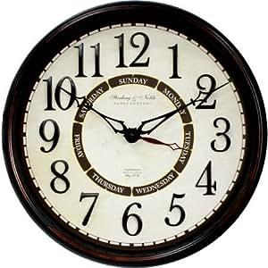 20 Calendar Wall Clock Home Kitchen
