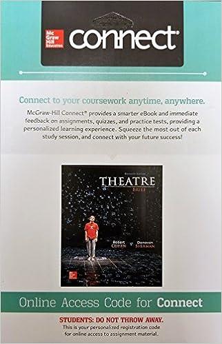 Pdf ebook] theatre, brief 11th edition robert cohen etextbook guru.