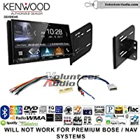 Volunteer Audio Kenwood DDX9904S Double Din Radio Install Kit with Apple CarPlay Android Auto Bluetooth Fits 2010-2013 Nissan Quest