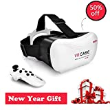 Grantek Virtual Reality Headset VR 3D Glasses with Remote...