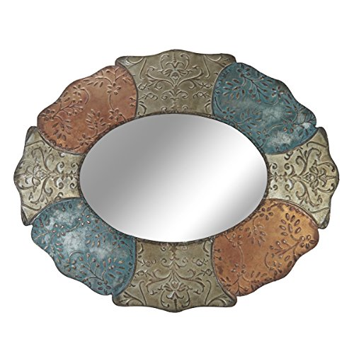 Elements Metal Oval Persian Wall Mirror