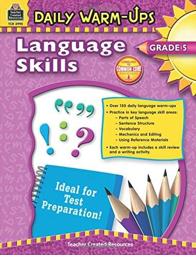 Daily Warm-Ups: Language Skills Grade 5 Text fb2 book