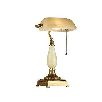 Briskaari Shop Lampe De Table Europeenne En Cuivre Ancienne Banque