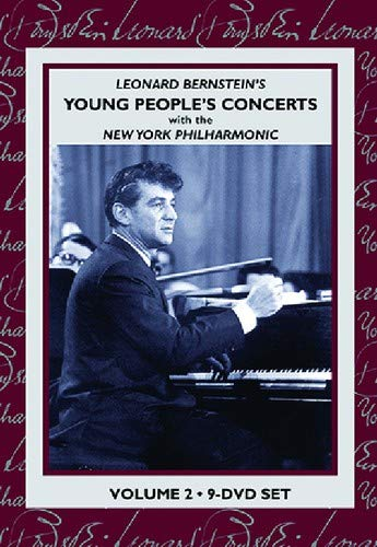 DVD : R. Strauss - Leonard Bernstein's Young People's Concert With The New York Philharmonic: Volume 2 (Boxed Set, Colorized, Black & White)