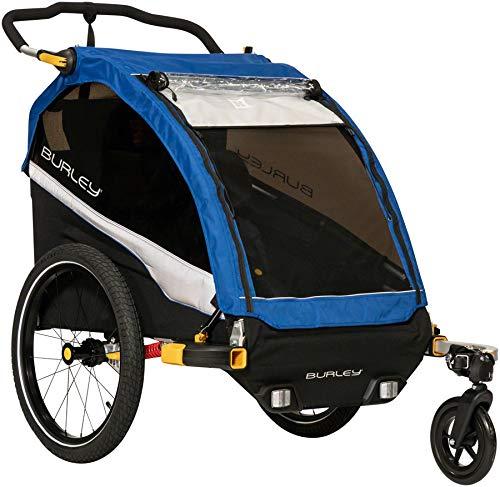 Burley D'Lite, 2 Seat Kids Bike Trailer & Stroller (Best Bike Trailers 2019)