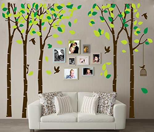 brown tree decal - 1