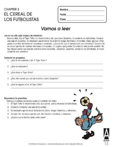 Amazon.com: Tom Alsops NEW Way to Learn the Present Subjunctive Spanish Activity Book: Office Products