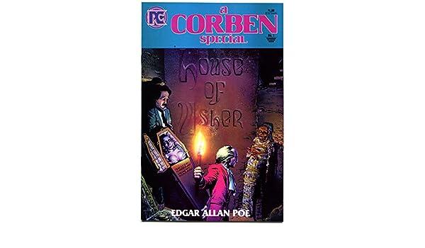 HOUSE of USHER Richard Corben #1 Horror,Edgar Allan Poe,more RC in store VF