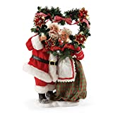 Department 56 Possible Dreams Evergreen Love Santa, 11.5 inch