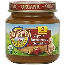 Earths Best 60195 Stg 2 Organic Apple Butternut Squash