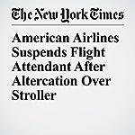 American Airlines Suspends Flight Attendant After Altercation Over Stroller | Eli Rosenberg