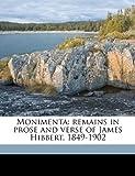 Moniment, James Hibbert, 1178333167