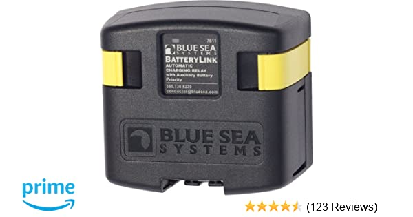 Amazon.com: Blue Sea Systems BatteryLink 12V/24V DC 120A Automatic on carolina skiff diagram, blue sea fuse block wiring diagram, blue sea 7650 installation, blue sea acr with two engines, blue sea battery selector wiring,