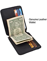 Genuine Leather Credit Card Wallet Slim Leaher Wallet Card Holder Leather Card Organzier