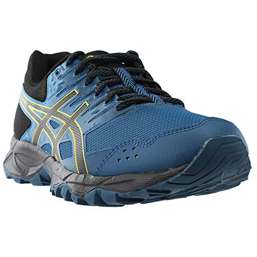 Gel Asics Runners (ASICS Gel-Sonoma 3 Running Shoe - Ink Blue/Black/Lemon Curry - Mens - 11.5)
