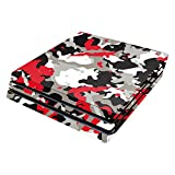 MightySkins Skin Compatible with Sony PS4 Pro Console - Red Camo | Protective, Durable, and Unique Vinyl Decal wrap Cover | Easy to Apply, Remove, and Change Styles | Made in The USA