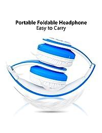 ? versión de actualización ? votones inalámbrico Bluetooth niños auriculares, Azul
