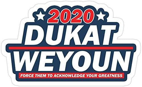 Cool Sticker For Cars Trucks Water Bottle Fridge Laptops DukatWeyoun 22 Presidentials Stickers 3 PcsPack 653184596558