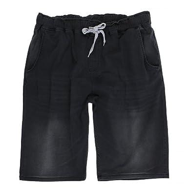 Lavecchia Herren Shorts in Übergröße Stone-Washed mit Tunnelzug von 3XL bis  8XL  Amazon.de  Bekleidung 8797dbcf01