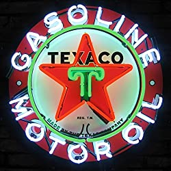 Neonetics 5TXOIL Texaco Gasoline Motor Oil Neon Sign