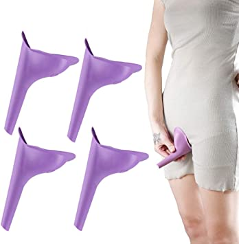 1Xurinal Funnel Portable Travel Urine Camping Device Toilet Lady Women Pee /_ALUK