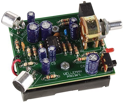 Velleman, Inc - Super Stereo Ear MiniKit MK136 - Entry Level Audio Amplifier Soldering Project