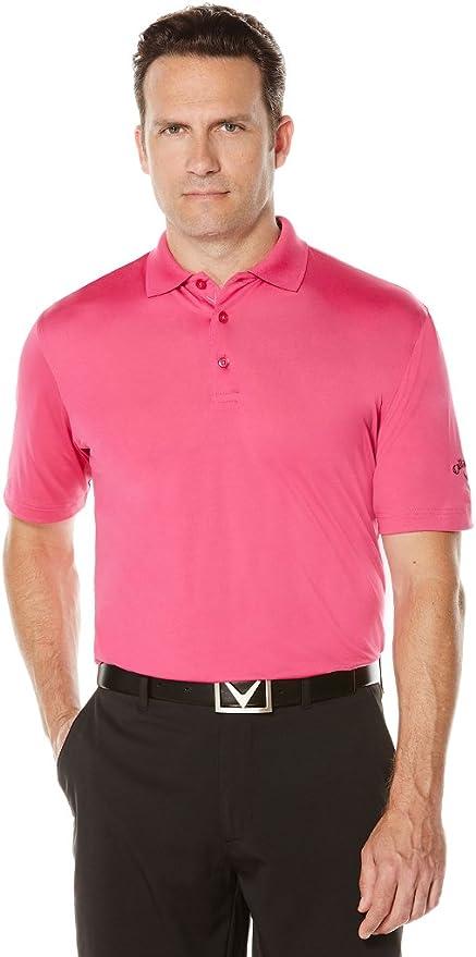 Callaway Polo de manga corta para hombre con rendimiento de golf s ...