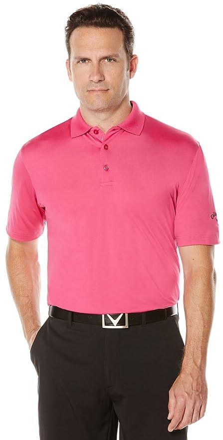 Callaway Polo de manga corta para hombre con rendimiento de golf ...