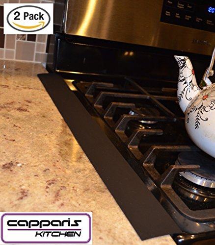 Capparis Kitchen Silicone Stove Counter Gap Cover Easy