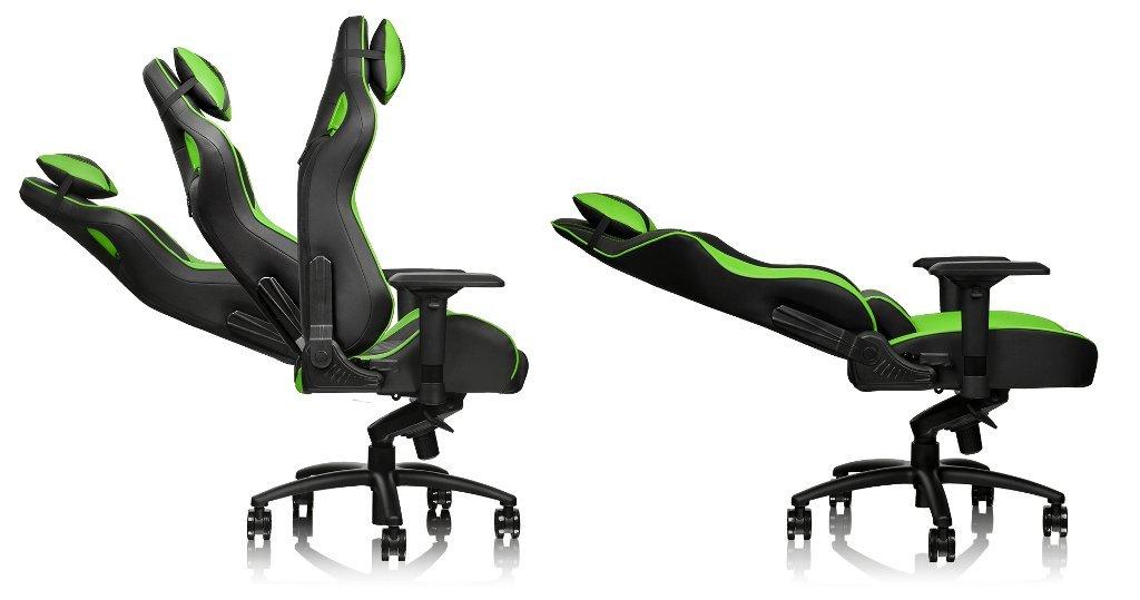 Thermaltake TT Esports GT-Comfort 500 - Silla Gaming - Verde: Amazon.es: Hogar