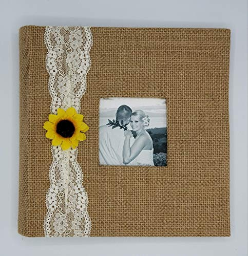 Rustic Sunflower Photo Album - Holds 160 4x6